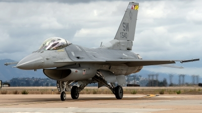 Photo ID 232801 by W.A.Kazior. USA Air Force General Dynamics F 16C Fighting Falcon, 93 0540