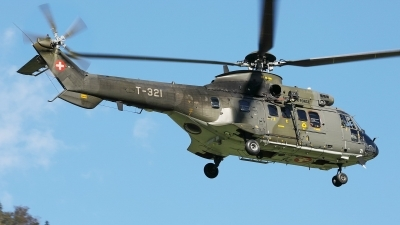 Photo ID 232837 by Sybille Petersen. Switzerland Air Force Aerospatiale AS 332M1 Super Puma, T 321