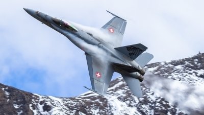 Photo ID 232846 by Agata Maria Weksej. Switzerland Air Force McDonnell Douglas F A 18C Hornet, J 5018