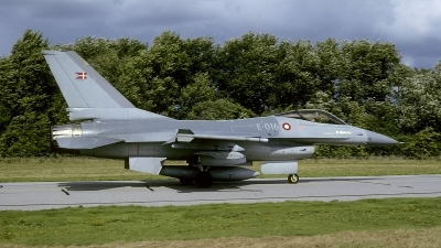 Photo ID 232850 by Joop de Groot. Denmark Air Force General Dynamics F 16A Fighting Falcon, E 016