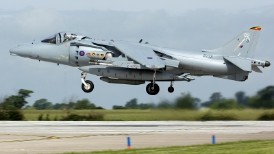 Photo ID 232887 by Joop de Groot. UK Air Force British Aerospace Harrier GR 9, ZD321