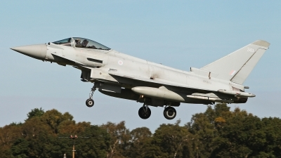 Photo ID 232902 by Carl Brent. UK Air Force Eurofighter Typhoon FGR4, ZK343