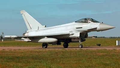Photo ID 232905 by Carl Brent. UK Air Force Eurofighter Typhoon FGR4, ZK343