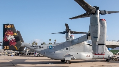 Photo ID 232927 by W.A.Kazior. USA Marines Bell Boeing MV 22B Osprey, 166497