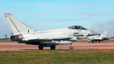 Photo ID 232929 by Carl Brent. UK Air Force Eurofighter Typhoon FGR4, ZK343