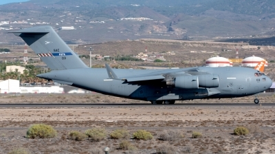 Photo ID 232975 by Manuel EstevezR - MaferSpotting. NATO Strategic Airlift Capability Boeing C 17A Globemaster III, 08 0003