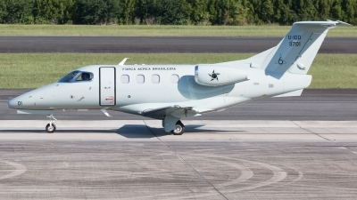 Photo ID 232965 by Hector Rivera - Puerto Rico Spotter. Brazil Air Force Embraer Phenom 100, 3701