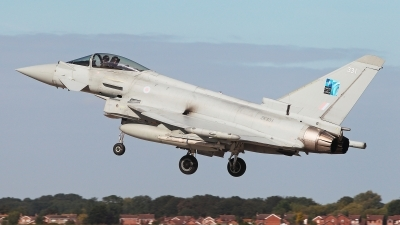 Photo ID 232979 by Carl Brent. UK Air Force Eurofighter Typhoon FGR4, ZK331