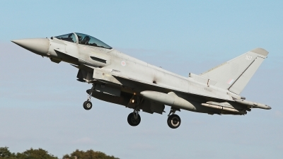 Photo ID 232980 by Carl Brent. UK Air Force Eurofighter Typhoon FGR4, ZK327