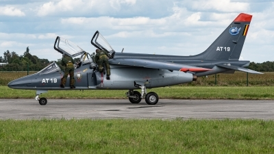 Photo ID 232995 by David Novák. Belgium Air Force Dassault Dornier Alpha Jet 1B, AT19