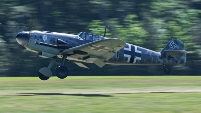 Photo ID 233434 by George Oakey, Jr.. Private Military Aviation Museum Messerschmitt Bf 109G 4, N109GY