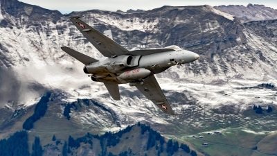 Photo ID 233030 by Martin Thoeni - Powerplanes. Switzerland Air Force McDonnell Douglas F A 18C Hornet, J 5026