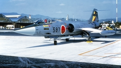 Photo ID 233049 by Gerrit Kok Collection. Japan Air Force Lockheed F 104J Starfighter, 46 8587