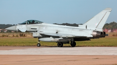 Photo ID 233070 by Carl Brent. UK Air Force Eurofighter Typhoon FGR4, ZK327