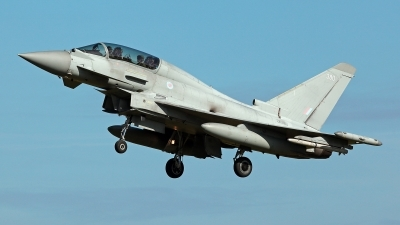 Photo ID 233072 by Carl Brent. UK Air Force Eurofighter Typhoon T3, ZK380