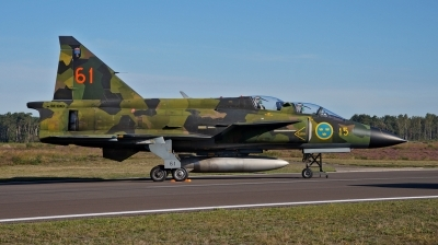 Photo ID 233088 by huelsmann heinz. Private Swedish Air Force Historic Flight Saab Sk37E Viggen, SE DXO