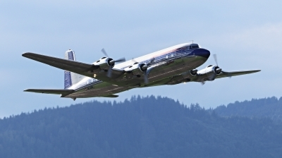 Photo ID 233512 by Milos Ruza. Private Red Bull Douglas DC 6B, OE LDM