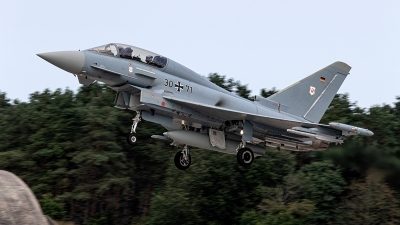 Photo ID 233094 by Jan Eenling. Germany Air Force Eurofighter EF 2000 Typhoon T, 30 71