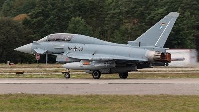 Photo ID 233095 by Jan Eenling. Germany Air Force Eurofighter EF 2000 Typhoon T, 98 08