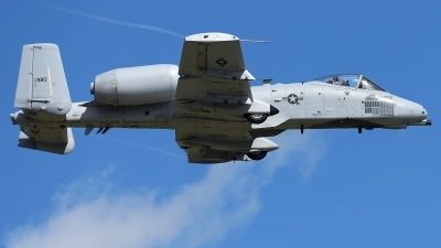 Photo ID 233142 by Rod Dermo. USA Air Force Fairchild A 10C Thunderbolt II, 81 0980