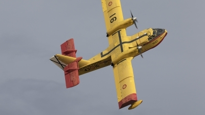 Photo ID 233219 by F. Javier Sánchez Gómez. Spain Air Force Canadair CL 215T, UD 13 16
