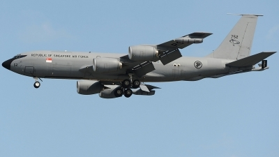 Photo ID 233205 by Aldo Bidini. Singapore Air Force Boeing KC 135R Stratotanker 717 100, 752