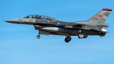 Photo ID 233209 by Adolfo Bento de Urquia. Turkey Air Force General Dynamics F 16D Fighting Falcon, 88 0015