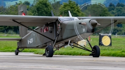 Photo ID 233280 by Martin Thoeni - Powerplanes. Switzerland Air Force Pilatus PC 6 B2 H2M 1 Turbo Porter, V 631