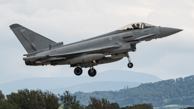 Photo ID 233283 by David Novák. UK Air Force Eurofighter Typhoon FGR4, ZJ931