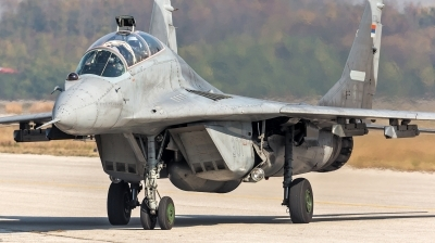 Photo ID 233348 by Anton Balakchiev. Serbia Air Force Mikoyan Gurevich MiG 29UB 9 51, 18301