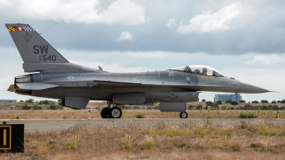 Photo ID 233331 by W.A.Kazior. USA Air Force General Dynamics F 16C Fighting Falcon, 93 0540