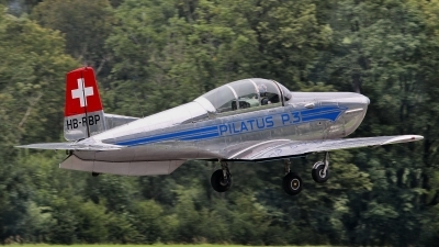 Photo ID 233390 by Sybille Petersen. Private P 3 Flyers Pilatus P 3 05, HB RBP