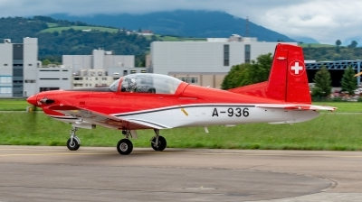 Photo ID 233380 by Martin Thoeni - Powerplanes. Switzerland Air Force Pilatus NCPC 7 Turbo Trainer, A 936