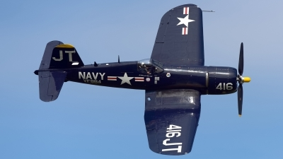 Photo ID 233415 by Rod Dermo. Private Private Vought F4U 4 Corsair, N713JT
