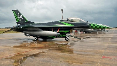 Photo ID 233478 by Aldo Bidini. Italy Air Force General Dynamics F 16A ADF Fighting Falcon, MM7240