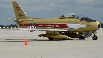 Photo ID 233491 by Aldo Bidini. Private Vintage Wings of Canada Canadair CL 13A Sabre Mk 5, C GSBR