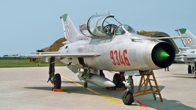 Photo ID 233492 by Helwin Scharn. Poland Air Force Mikoyan Gurevich MiG 21UM, 9346