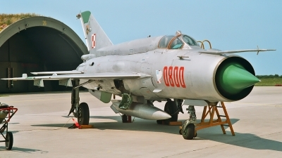 Photo ID 233493 by Helwin Scharn. Poland Air Force Mikoyan Gurevich MiG 21bis, 0800