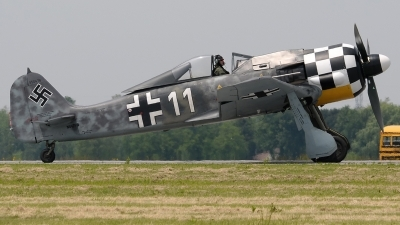 Photo ID 233547 by Aldo Bidini. Private Military Aviation Museum Eidgenossische Flugzeugwerke FW 190A 8 N, N447FW