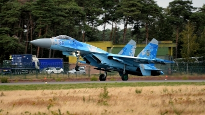 Photo ID 233690 by Alex Staruszkiewicz. Ukraine Air Force Sukhoi Su 27P1M,