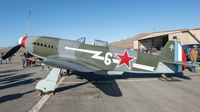 Photo ID 233714 by W.A.Kazior. Private Planes of Fame Air Museum Yakovlev Yak 3UA, N130AM
