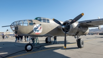Photo ID 233597 by W.A.Kazior. Private Planes of Fame Air Museum North American B 25J Mitchell, N3675G