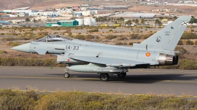 Photo ID 233684 by Alfonso Madico. Spain Air Force Eurofighter C 16 Typhoon EF 2000S, C 16 75 10205