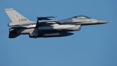 Photo ID 233814 by Rainer Mueller. Netherlands Air Force General Dynamics F 16AM Fighting Falcon, J 509