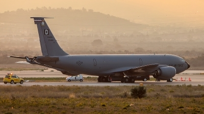 Photo ID 233864 by Thanasis Ozrefanidis. USA Air Force Boeing KC 135R Stratotanker 717 100, 57 1493
