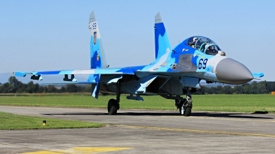 Photo ID 233880 by Milos Ruza. Ukraine Air Force Sukhoi Su 27UB,