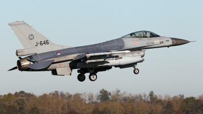 Photo ID 233884 by Carl Brent. Netherlands Air Force General Dynamics F 16AM Fighting Falcon, J 646