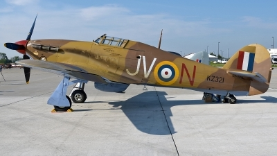 Photo ID 234020 by Aldo Bidini. Private Vintage Wings of Canada Hawker Hurricane IV, CF TPM