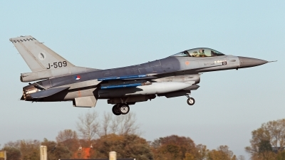 Photo ID 233991 by Carl Brent. Netherlands Air Force General Dynamics F 16AM Fighting Falcon, J 509