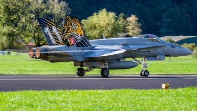 Photo ID 234561 by Agata Maria Weksej. Switzerland Air Force McDonnell Douglas F A 18C Hornet, J 5011